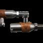 Walden Speed Shop WSS Retro Style Ford Tie Rod End - Tie Rod/Drag Link - RH Thread - Polished - 40260P