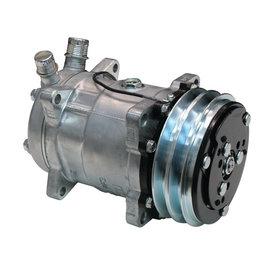Vintage Air 709 V-Belt Compressor - Standard Finish - 04709-VUA