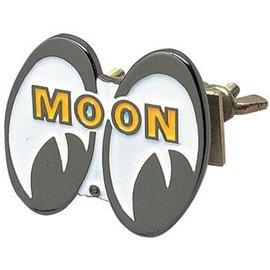 Mooneyes MOON Logo Grille Emblem - MG035