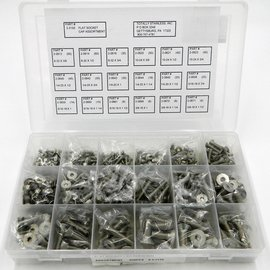 Totally Stainless Stainless Flat Socket Head Cap Screw - Personal Assortment