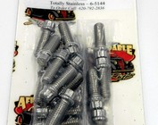 Totally Stainless Header Bolts
