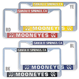 Mooneyes License Plate Frame - Santa Fe Springs - Mooneyes