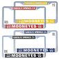 Mooneyes License Plate Frame - Santa Fe Springs - Mooneyes