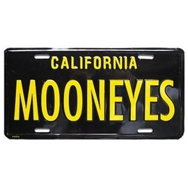 Mooneyes Novelty License Plates