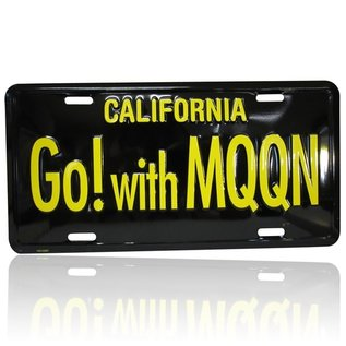 Mooneyes Novelty License Plates