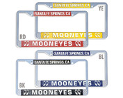 License Plates, License Frames,  License Bolts, Tag Toppers & Emblems