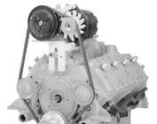Ford Flat Head Alternator & A/C Compressor Brackets