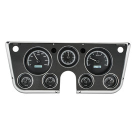 Dakota Digital 67-72 Chevy Truck VHX Gauges with Analog Clock