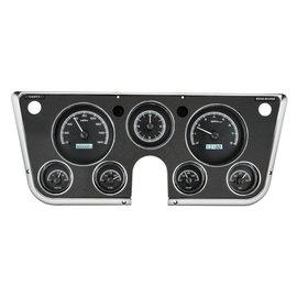 Dakota Digital Dakota Digital 67-72 Chevy Truck VHX Instruments with Analog Clock