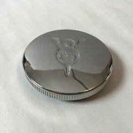 Vintique, Inc. Gas Cap - V8 Logo -  Non-Vented - B-9030-V8