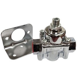 Tanks Inc. Carbureted Fuel Pressure Regulator - Chrome - FR1C