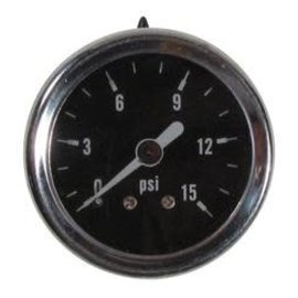 Tanks Inc. Fuel Pressure Gauge - 0-15 PSI - PG15