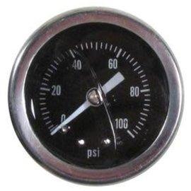 Tanks Inc. Fuel Pressure Gauge - 0-100 PSI - PG100