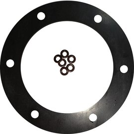 "Tanks Inc. 3-1/4"" Diameter 6 Hole Viton Gasket w/ O-Rings - 3G-V-OR"