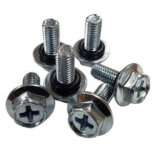 Tanks Inc. 10-32 Screws with O-Rings (6 Pack) - 10-32-O-PK