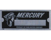 Lincoln/Mercury VIN Tags