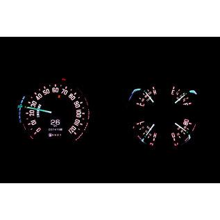 Dakota Digital 54 Chevy/ GMC Pickup RTX Instruments - RTX-54C-PU-X