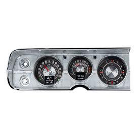 Dakota Digital 64-65 Chevy Chevelle/El Camino RTX Instruments - RTX-64C-CVL-X
