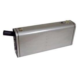 Tanks Inc. Universal Stainless Steel EFI Gas Tank w/ Angled Neck &Hose