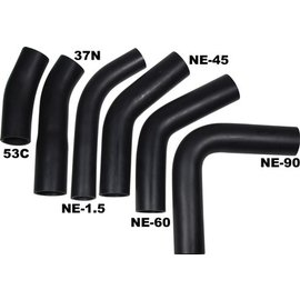 Tanks Inc. Rubber Fuel Transfer Hose Bends
