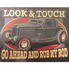 Affordable Street Rods Look and Touch Magnet - A10