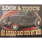 Affordable Street Rods A10 - Look and Touch Magnet