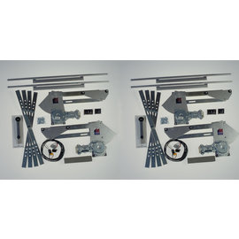 Specialty Power Windows Specialty Power Windows - Univ. - 4 Window - Complete Kit - 2416U-4C