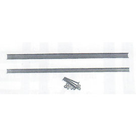 """Specialty Power Windows - Univ. Metal Side Run Channel - Up to 9/16"""" - 23"""" long - UC-1"""