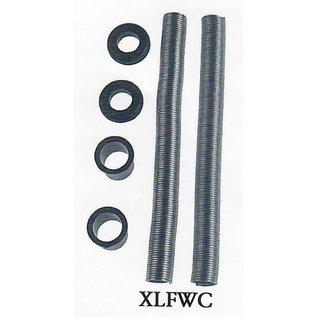 Specialty Power Windows Specialty Power Windows - Door Conduit - XL Flexible Stainless Steel (pair) - XLFWC