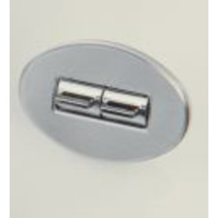 Specialty Power Windows - Quad Switch - Custom Alum. Bezel - Oval Smooth - AB-04 O