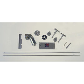 Specialty Power Windows - Wiper Kit - 55-57 Chevy Car - With 2 SPD Switch - WWK-5557-2