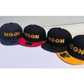 Mooneyes MOON Wool Flat Visor Cap