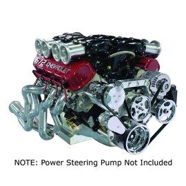 Vintage Air Vintage Air Big Block Chevy Front Runner Drive System - A/C, Alternator & Power Steering (W/O pump)