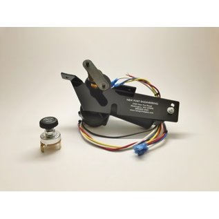 New Port Engineering 1940-41 DODGE AND PLYMOUTH WIPER MOTOR: REPLACES FACTORY ELECTRIC WIPER MOTOR - NE4041MPRE