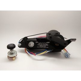 New Port Engineering 1947-53 CHEVY/GMC TRUCK WIPER MOTOR (FITS WITH STOCK CHOKE CABLE) - NE4753CCT