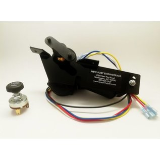 New Port Engineering 1948-50 DODGE TRUCK WIPER MOTOR (REPLACES FACTORY ELECTRIC MOTOR) - NE4850DTE