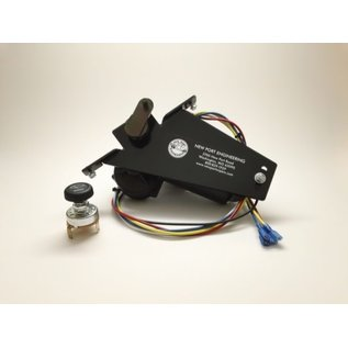 New Port Engineering 1951-52 FORD TRUCK WIPER MOTOR (REPLACES FACTORY ELECTRIC WIPER MOTOR) - NE5152FTE