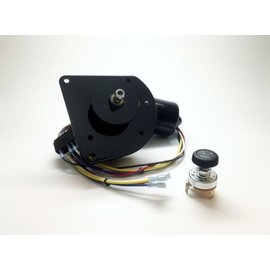 New Port Engineering 1960-66 CHEVY/GMC TRUCK WIPER MOTOR (ORIGINAL MOTOR POINTS TOWARDS SEAT) - NE6066CT