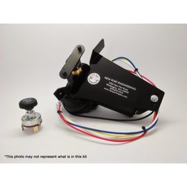 New Port Engineering 1951-52 FORD TRUCK WIPER MOTOR (REPLACES FACTORY VACUUM WIPER MOTOR) - NE5152FT