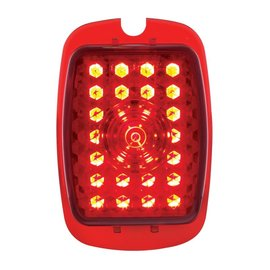 United Pacific 37-38 Chevy Passenger Car & 40-53 Chevy & GMC Truck LED Sequential Tail Light Lens