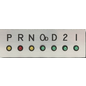 Dakota Digital LED Gear Position Indicator