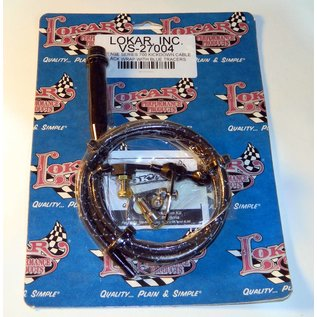 Lokar Vintage Series 700R4 Kickdown Cable