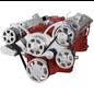 CVF Racing CVF Racing Small Block Chevy Wraptor Serpentine Kit - All Inclusive - AC, Power Steering & Alternator - Mechanical Fan