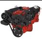 CVF Racing CVF Racing Small Block Chevy Wraptor Serpentine Kit - All Inclusive - AC & Alternator - Electric Fan