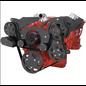 CVF Racing CVF Racing Small Block Chevy Wraptor Serpentine Kit - All Inclusive - Power Steering & Alternator - Electric Water Pump