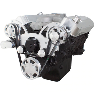 CVF Racing CVF Racing Big Block Chevy Wraptor Serpentine Kit - All Inclusive - Alternator Only - Electric Water Pump