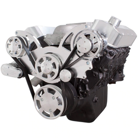CVF Racing CVF Racing Big Block Chevy Wraptor Serpentine Kit - All Inclusive - Alternator Only - Mechanical Fan