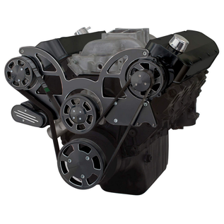 CVF Racing CVF Racing Big Block Chevy Wraptor Serpentine Kit - All Inclusive - AC & Alternator - Electric Water Pump