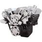 CVF Racing CVF Racing Big Block Chevy Wraptor Serpentine Kit - All Inclusive - AC & Alternator - Electric Fan