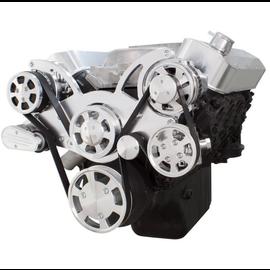 CVF Racing CVF Racing Big Block Chevy Wraptor Serpentine Kit - All Inclusive - AC, Power Steering & Alternator - Electric Fan